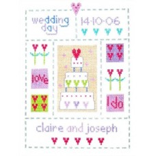 Wedding Sampler - Great Wedding gift