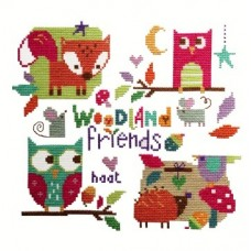 Woodland Friends - Cross Stitch