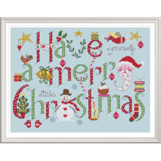 Have yourself a merry little Christmas (White Fabric)