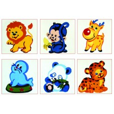 Collection of Six Animals B