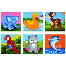 Collection of Six Animals C
