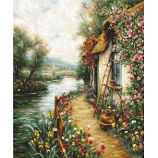 Along the River Petit Point Kit